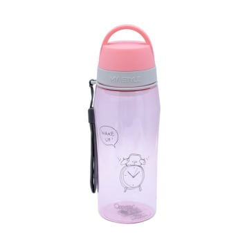 APPETITE BOTOL MINUM WAKE UP 550 ML - PINK_1