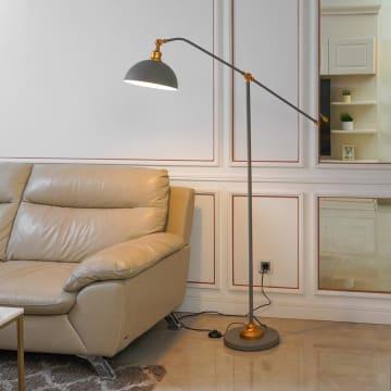GAYLE LAMPU LANTAI - ABU ABU_3