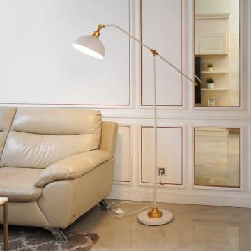 GAYLE LAMPU LANTAI - PUTIH_3