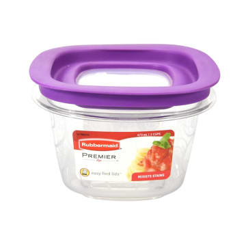 RUBBERMAID PREMIER WADAH MAKANAN 473 ML - UNGU_1