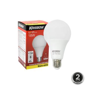 KRISBOW BOHLAM LED 18W 6500K - WARM WHITE_1