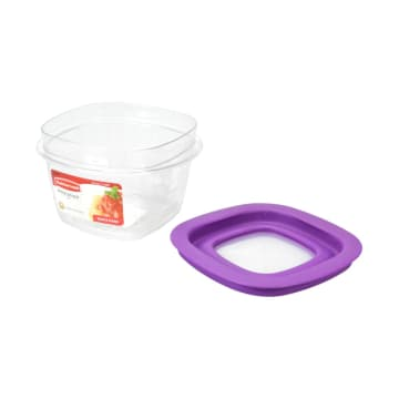 RUBBERMAID PREMIER WADAH MAKANAN 473 ML - UNGU_2