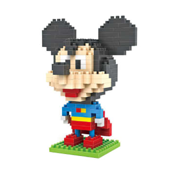 LOZ LARGE MICKEY MOUSE SUPERMAN 9419_1