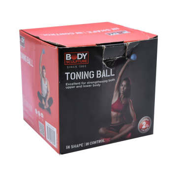 BODY SCULPTURE TONING BALL 2 KG - BIRU_2
