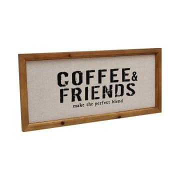 HIASAN DINDING COFFEE AND FRIENDS 55.8X25.3 CM_2