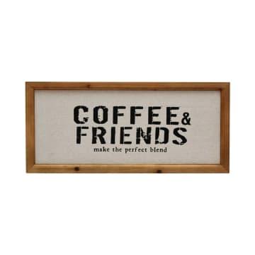 HIASAN DINDING COFFEE AND FRIENDS 55.8X25.3 CM_1