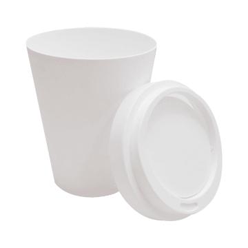 TEMPAT SAMPAH PLASTIK TUTUP AYUN 25X16X33.5 CM - PUTIH_3