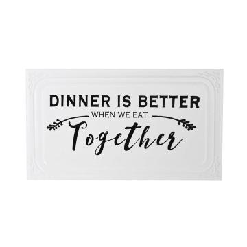 HIASAN DINDING DINNER TOGETHER 6D 39.7X23.2CM_1