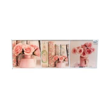 SET HIASAN DINDING FLOWER S02 20X20X3 CM_1