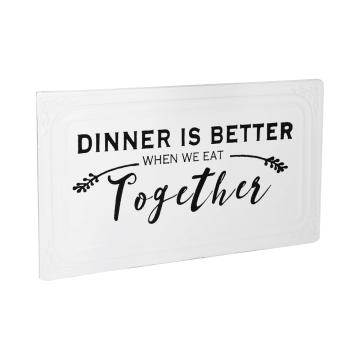 HIASAN DINDING DINNER TOGETHER 6D 39.7X23.2CM_2