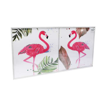 SET HIASAN DINDING FLAMINGO 30X30X3 CM 2 PCS_2