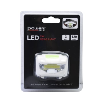POWERLITE SENTER KEPALA LED 3W 120LM_1