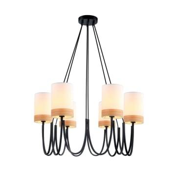 HILLARY LAMPU GANTUNG HIAS 6L_1