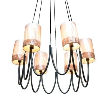 HILLARY LAMPU GANTUNG HIAS 6L_2