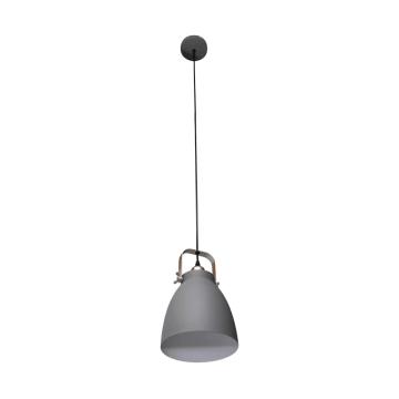GORDON LAMPU GANTUNG HIAS 22X22X180 CM - ABU-ABU_1