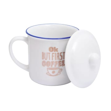 DELIZIOSO SET MUG FIRST COFFEE 414 ML 2 PCS_3