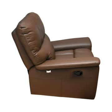 M&D DONATELLO SOFA RECLINER GOYANG - COKELAT MUDA_3
