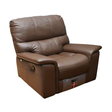 M&D DONATELLO SOFA RECLINER GOYANG - COKELAT MUDA_2
