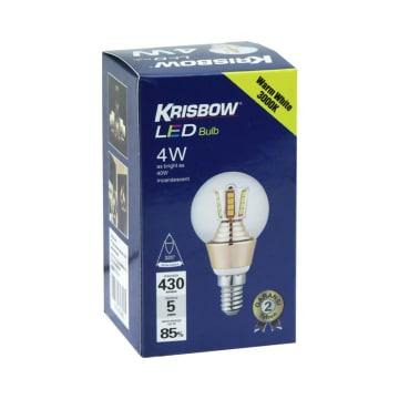 KRIBSOW LAMPU LED GLOBE 4W - WARM WHITE_2