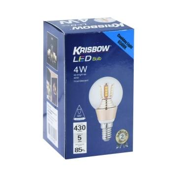 KRIBSOW LAMPU LED GLOBE 4W - COOL DAYLIGHT_2