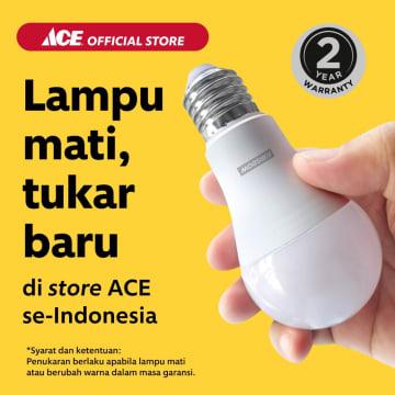 KRIBSOW LAMPU LED GLOBE 4W - WARM WHITE_3