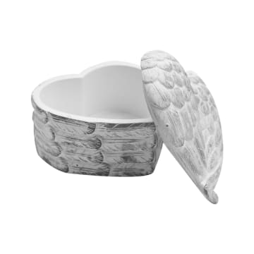 MINIATUR DEKORASI LOVE BUNDLE ANGEL WINGS - PUTIH_3