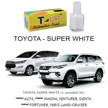T-UP CAT OLES PENGHILANG GORESAN  TOYOTA - SUPER WHITE_1