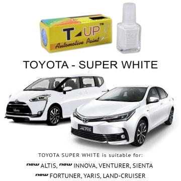T-UP CAT OLES PENGHILANG GORESAN  TOYOTA - SUPER WHITE_2