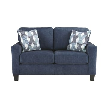 ASHLEY BURGOS SOFA 2 DUDUKAN - BIRU NAVY_1