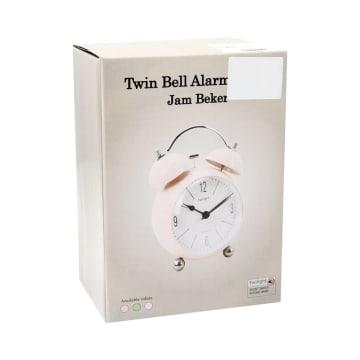 JAM WEKER BELL ALARM 11.5 CM - BIRU_3