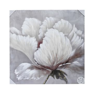 LUKISAN MINYAK FLOWER 100X100X2.8 CM_1