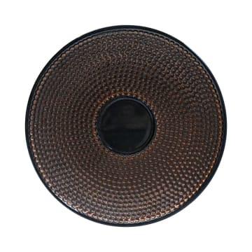 MINIATUR DEKORASI PLATE H14 35X35X6 CM - COPPER_2