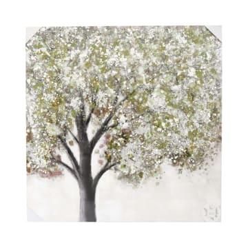LUKISAN MINYAK TREE 80A 100X100 CM_1