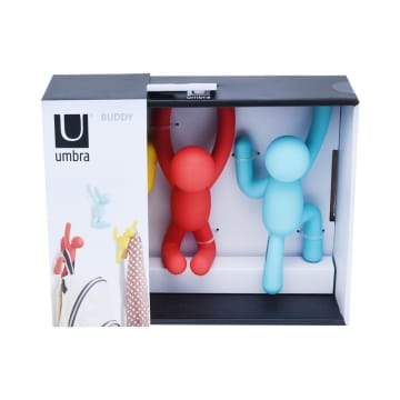 UMBRA GANTUNGAN DINDING BUDDY 3 PCS - ASSORTED_1