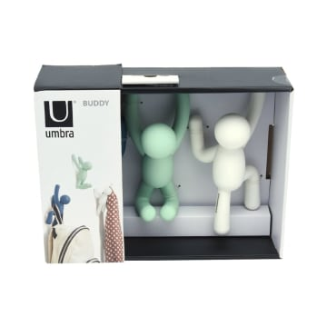 UMBRA GANTUNGAN DINDING BUDDY 3 PCS - ASSORTED_3