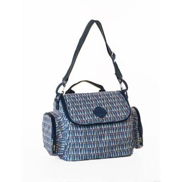 Freckles Cooler Bag Triangle Blue_3