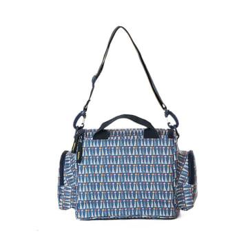 Freckles Cooler Bag Triangle Blue_2