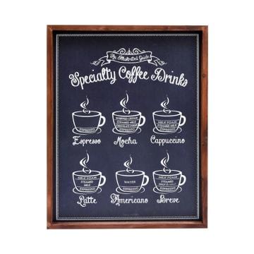 HIASAN DINDING SPECIALTY COFFEE DRINKS 49X38X2.5 CM_1