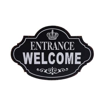 DEKORASI DINDING ENTRANCE WELCOME 67X5.5X63.5 CM_2