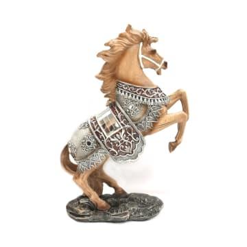 MINIATUR DEKORASI HORSE 22X8X32.8 CM_1