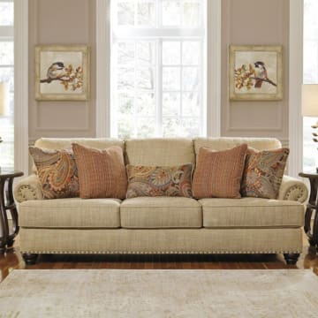 ASHLEY CANDORO SOFA 3 DUDUKAN - KREM_2