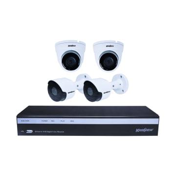 KRISVIEW KAMERA CCTV AHD 4 CAM 1080P_1