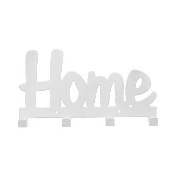 GANTUNGAN DINDING HOME 4 PENGAIT 24.5X10.5X2.5 CM - PUTIH_1