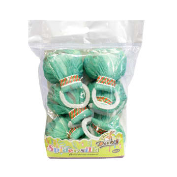 PARTY SPIDER THREADS 6 PCS - HIJAU_6