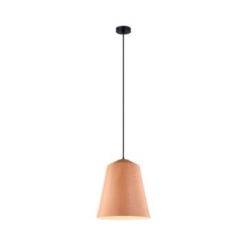 HAVA LAMPU GANTUNG HIAS 36X120 CM - COKELAT MUDA_1