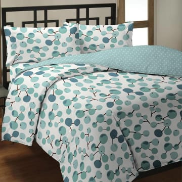 LINOTELA BED COVER BERRY_1