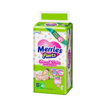 MERRIES POPOK GOOD SKIN PANTS UKURAN S 40 PCS_1