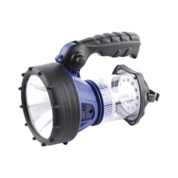 WESTINGHOUSE SENTER LED RECHARGEABLE 2 IN 1 3W - BIRU_1