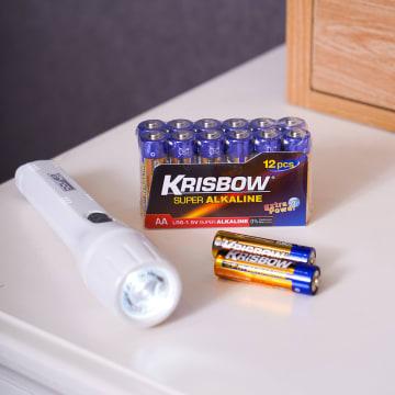KRISBOW BATERAI ALKALINE UKURAN AA 12 PCS_2