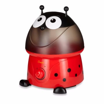 Crane USA Adorables Lady Bug Cool Mist Humidifier Red Black_1